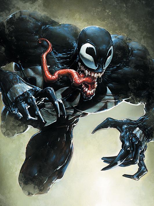 Canvas Print Venom - Leap