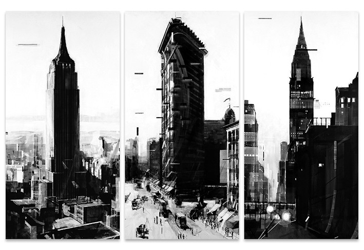 Canvas Print Wessel Huisman - New York Series