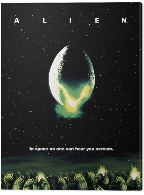 Alien - One Sheet Canvas Print