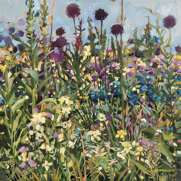 Anne-Marie Butlin - Bee Border Canvas Print