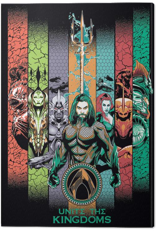 Aquaman - Unite the Kingdoms Canvas Print