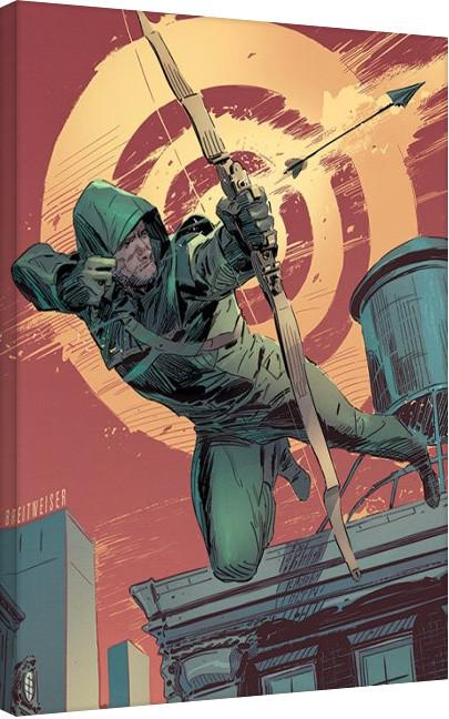 Arrow - Target Canvas Print