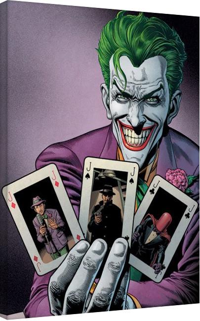 Batman - Joker Cards Canvas Print