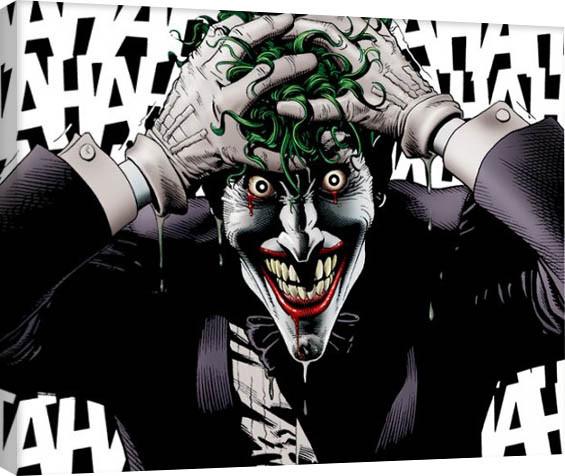 Batman - The Joker Killing Joke Canvas Print