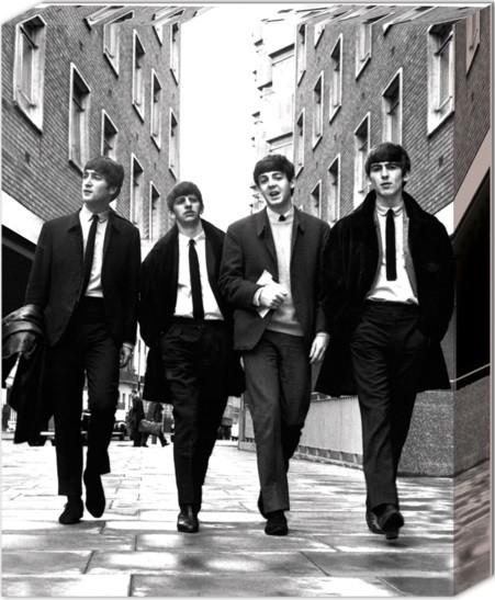 Beatles - In London Canvas Print