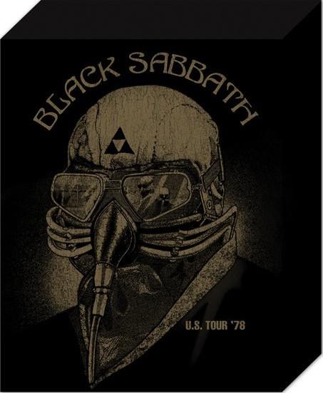 Black Sabbath - US Tour 78 Canvas Print