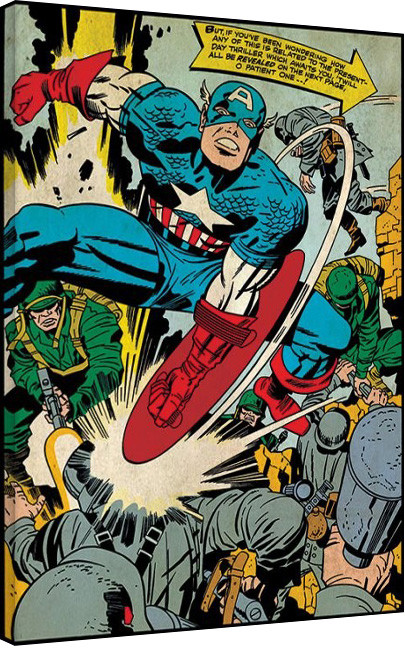 Captain America - Soldiers Canvas Print