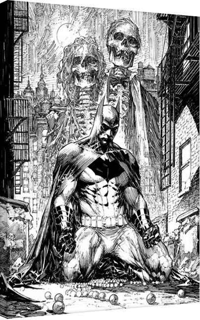 DC Comics - Batman Haunted Canvas Print
