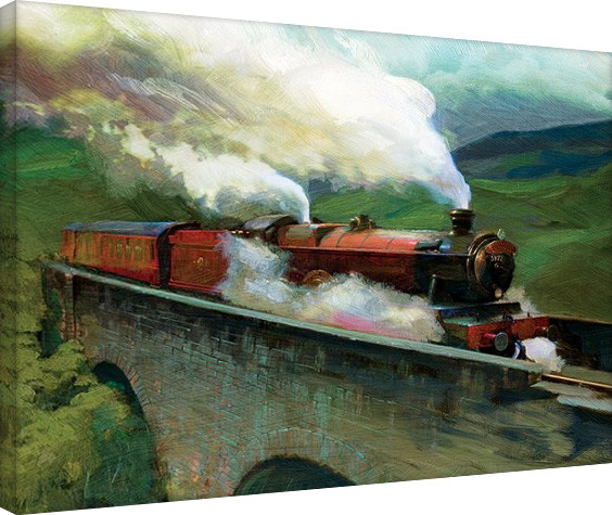 Harry Potter-Hogwarts Express Landscape Canvas Print