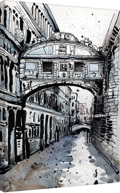 Jack the Flipper - Venice IV Canvas Print