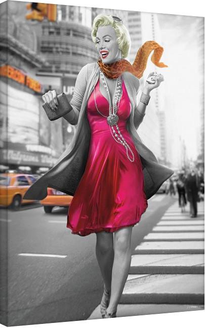 Jadei Graphics: Monroe - New York Walk Canvas Print