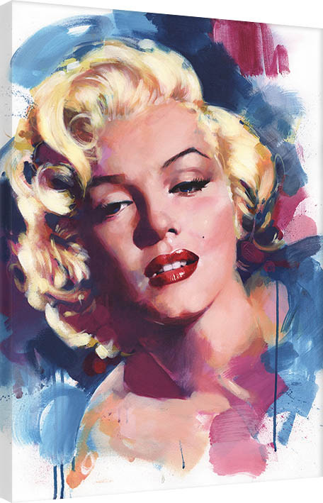 James Paterson - Marilyn Canvas Print