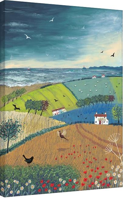 Jo Grundy - Sea Breeze Canvas Print