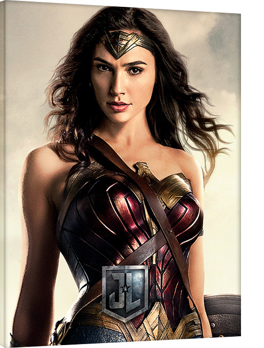 Canvas Print Justice League Movie - Wonder Woman, Sold At -9029