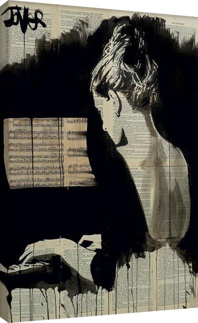 Loui Jover - Her Sonata Canvas Print