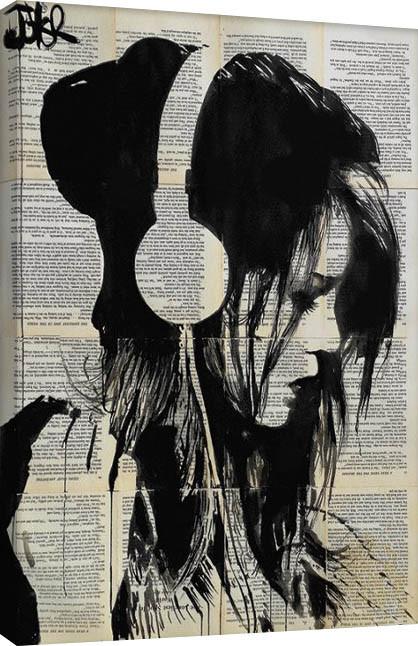 Loui Jover - Melodies Solace Canvas Print