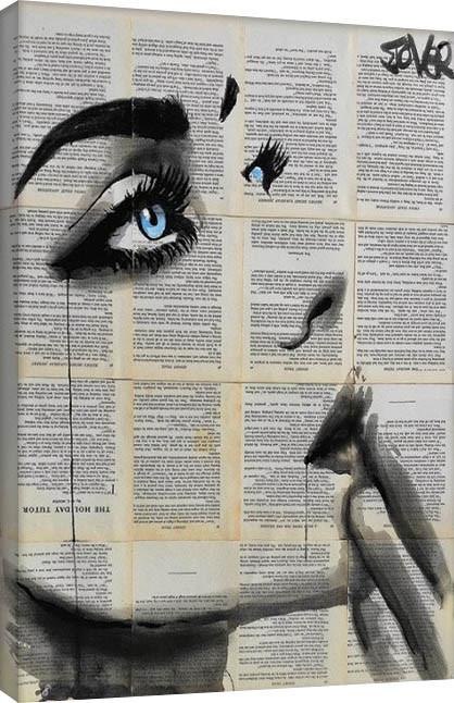 Loui Jover - Never Know Again Canvas Print
