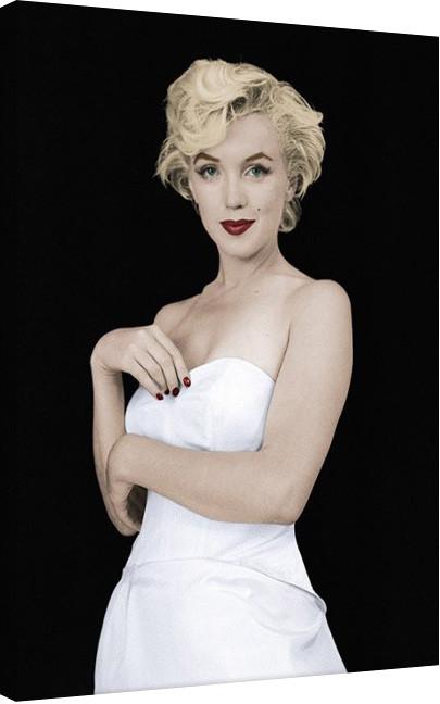 Marilyn Monroe - Pose Canvas Print