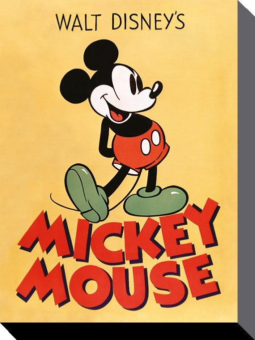 Mickey Mouse - Mickey Canvas Print