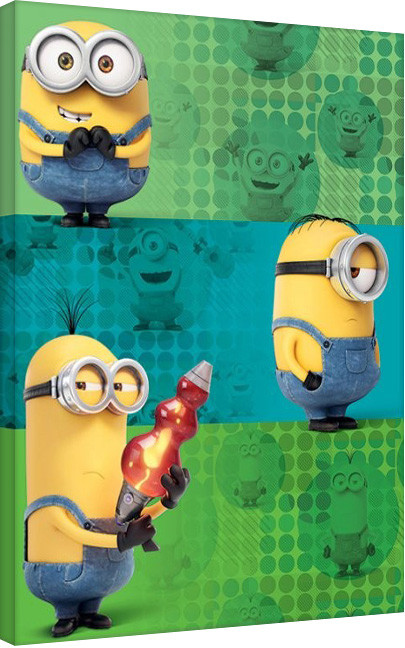 Minions - Team  Canvas Print