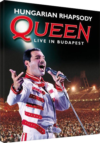 Queen - Hungarian Rhapsody  Canvas Print