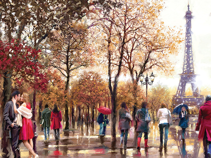 Richard Macneil - Eiffel Tower Canvas Print