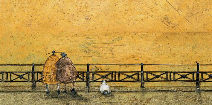 Sam Toft - A Romantic Interlude Canvas Print