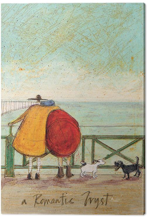 Sam Toft - A Romantic Tryst Canvas Print