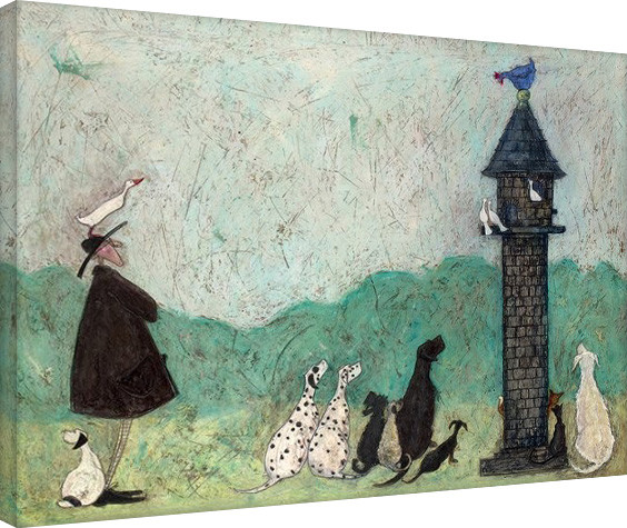 Sam Toft - An Audience with Sweetheart Canvas Print