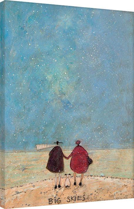 Sam Toft - Big Skies Canvas Print