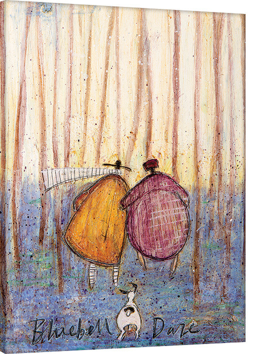 Sam Toft - Bluebell Daze Canvas Print