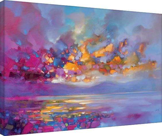Scott Naismith - Magenta Refraction Canvas Print