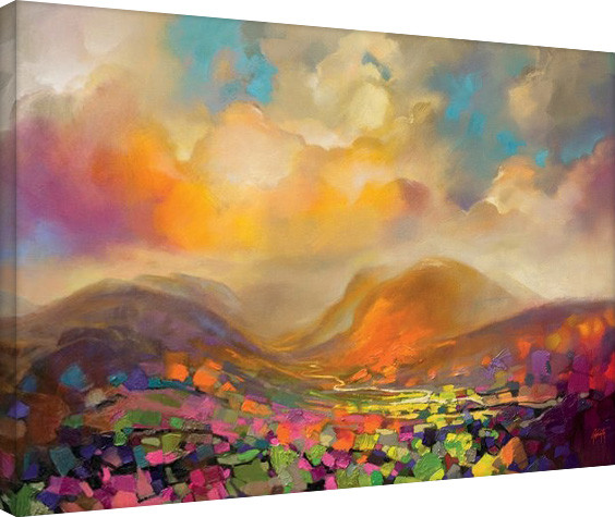 Scott Naismith - Nevis Range Colour Canvas Print