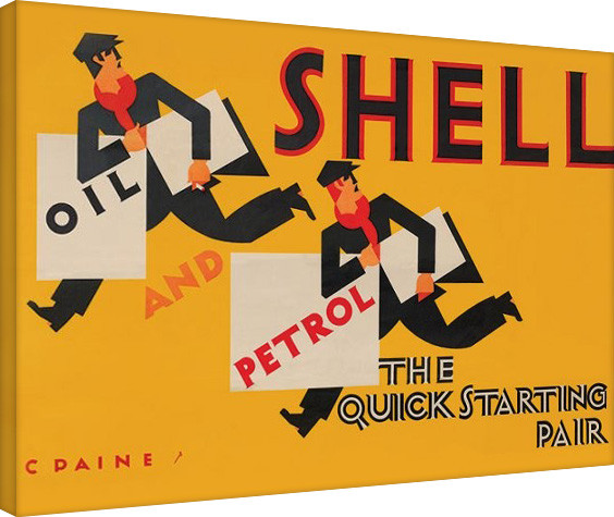 Shell - Newsboys, 1928 Canvas Print