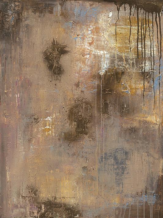 Soozy Barker - Gold Reflections Canvas Print