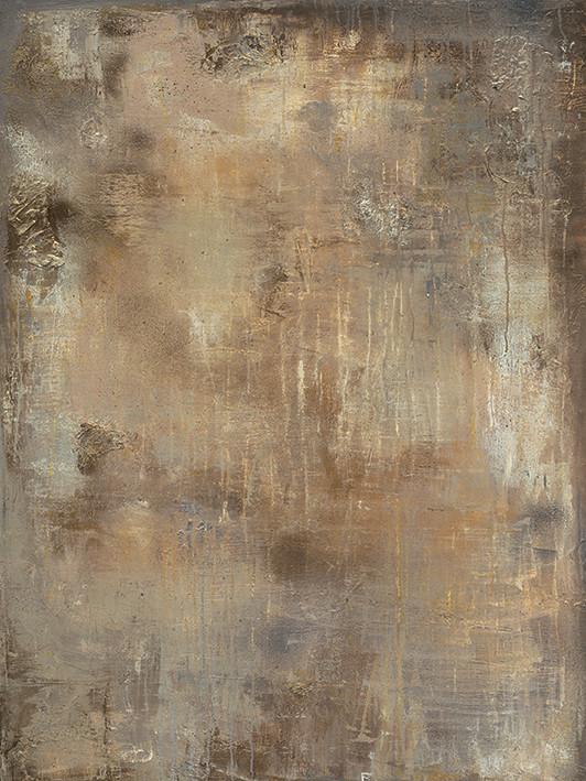 Soozy Barker - Gold Stone Canvas Print