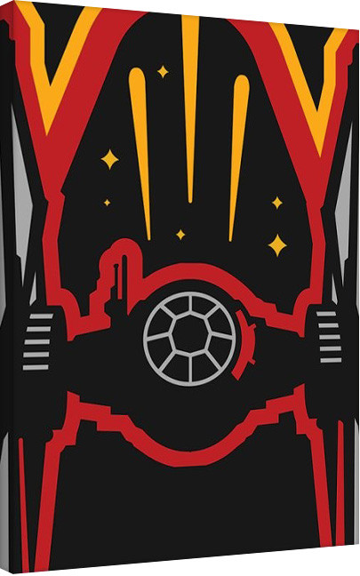 Star Wars Episode VII: The Force Awakens - X-Wing Icon Canvas Print
