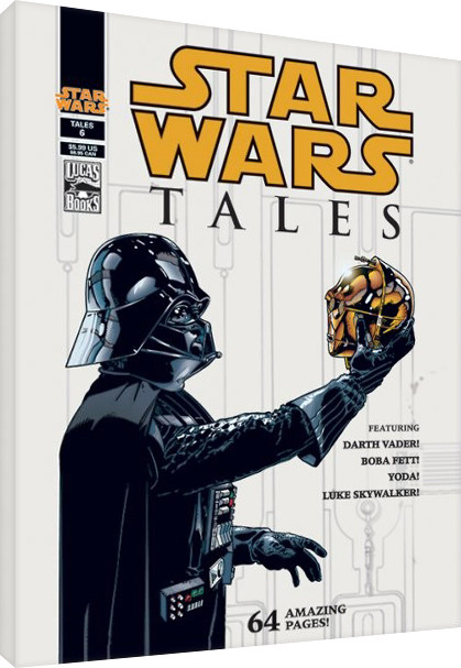 Star Wars - Tales Canvas Print
