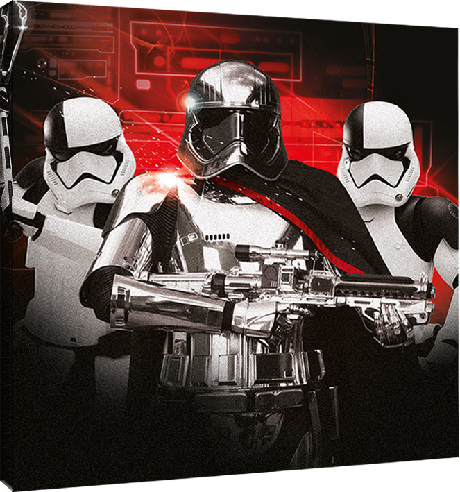 Star Wars The Last Jedi - Trooper Team Canvas Print