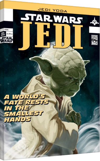Star Wars - Yoda Comic Cover Canvas Print