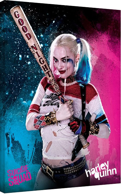 Suicide Squad-Harley Quinn Canvas Print