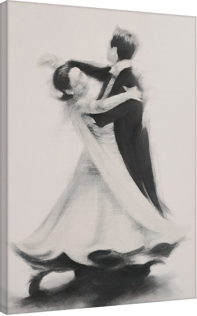 T. Good - Ballroom 2 Canvas Print
