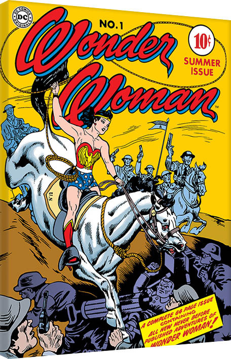 Wonder Woman - Adventure Canvas Print