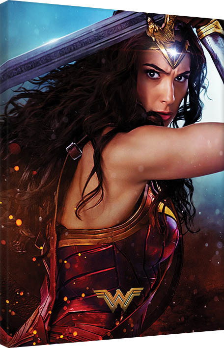 Wonder Woman - Wonder Canvas Print