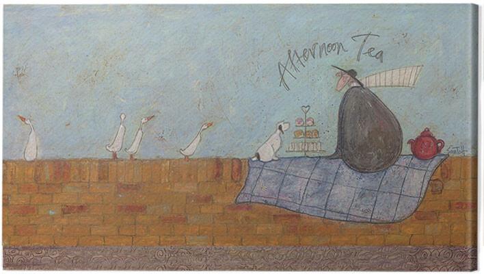 Canvas-taulu Sam Toft - Afternoon tea