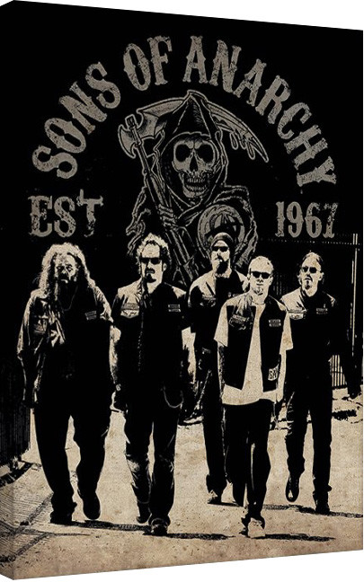 Canvas-taulu Sons of Anarchy - Reaper Crew