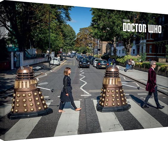 Doctor Who - Abbey Road Canvas-taulu