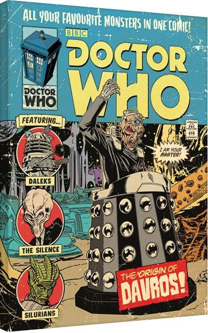 Doctor Who - The Origin of Davros Canvas-taulu
