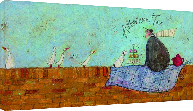Sam Toft - Afternoon tea Canvas-taulu