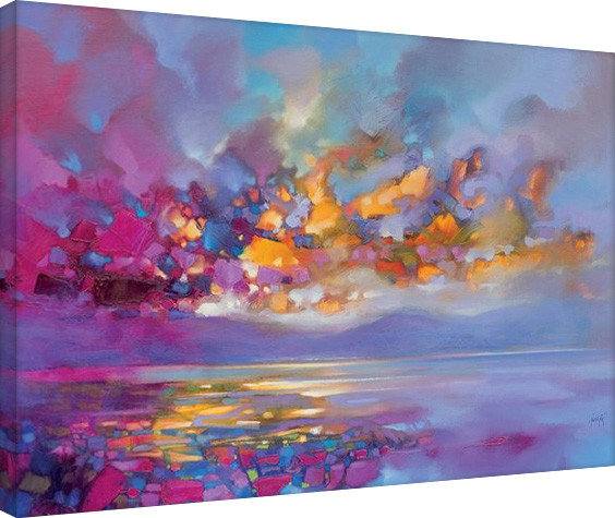 Scott Naismith - Magenta Refraction Canvas-taulu